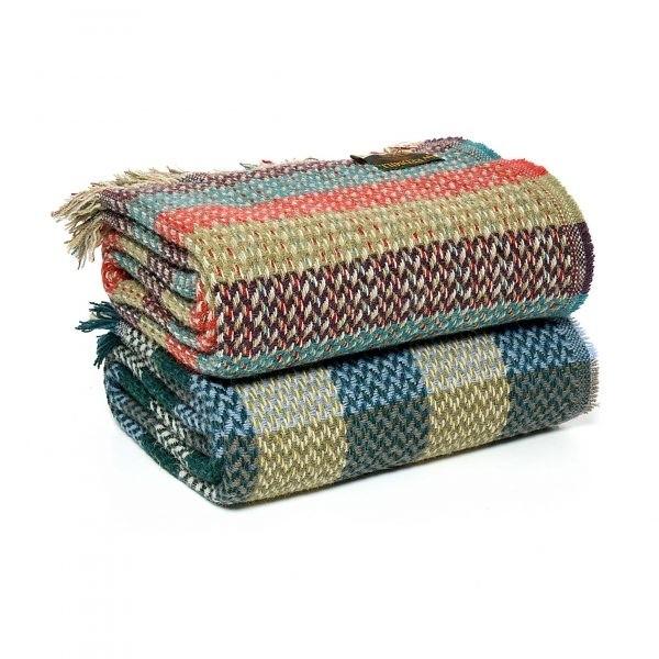 Wool Celtic Weave Stripe
