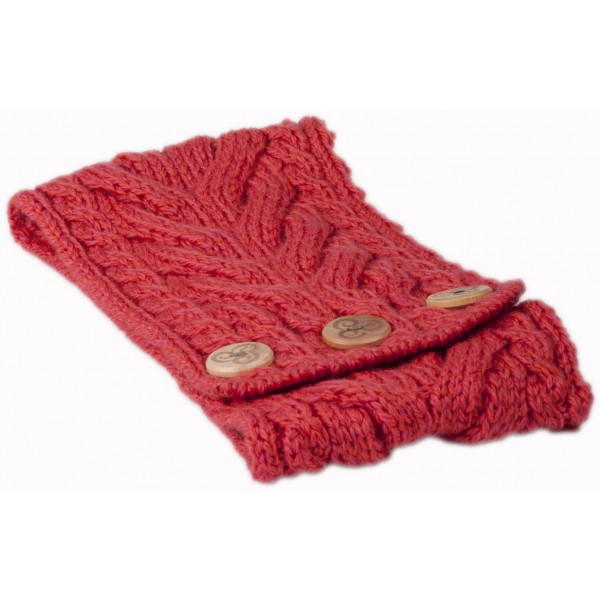SSMer. Coral Multi Cable Burgundy Headband/But