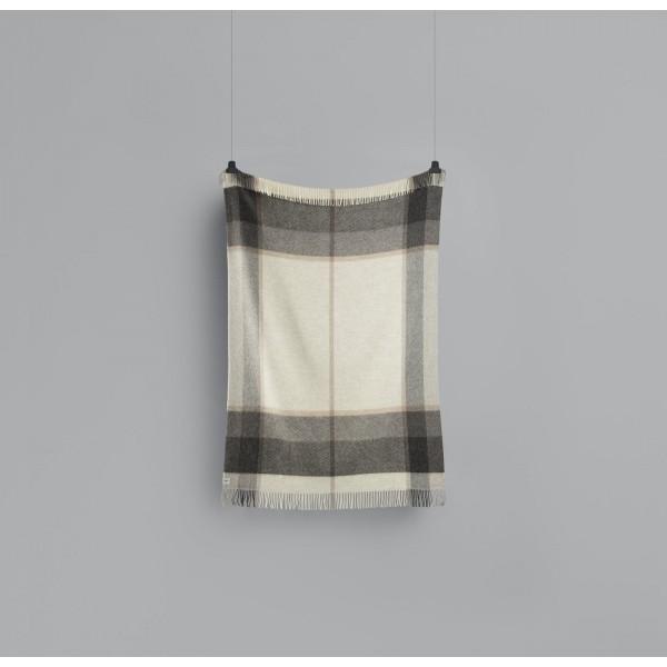 Myrull - Light Grey Wool Blanket