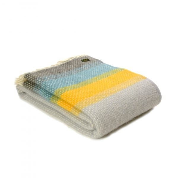 Tweedmill Lifestyle Throw - Ombre Tidal - 130 x 200cms