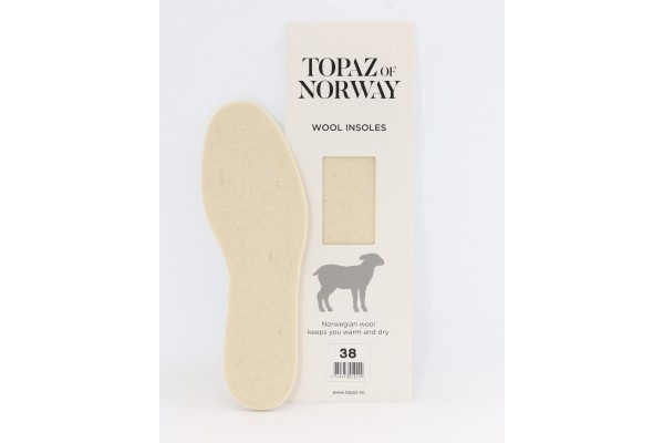 Topaz Wool Insoles