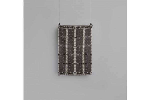 Kristin Natural - Grey Wool Blanket