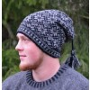 Ullcentrum Swedish Wool Beanie Hat with Tassel, 4 Colors